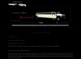 Limoforhireromford.co.uk thumbnail