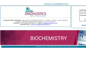 Lims.apollodiagnostics.in thumbnail