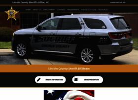 Lincolnsheriff.org thumbnail