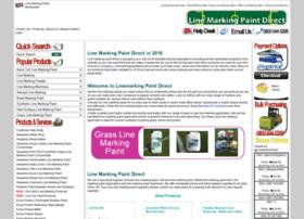 Linemarkingpaintdirect.com thumbnail
