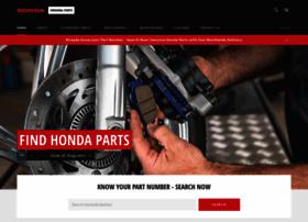 Genuine Honda Parts | Honda Cars | Honda Motorcycles | Honda Power