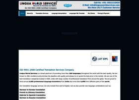 Linguaworldservices.com thumbnail