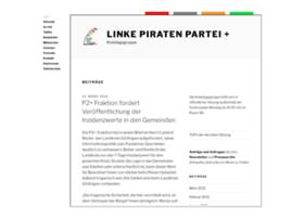 Linke-piraten-partei.de thumbnail