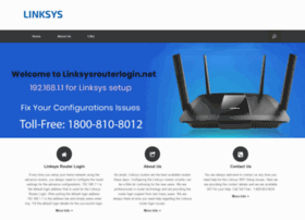 Linksysrouterlogin.net thumbnail