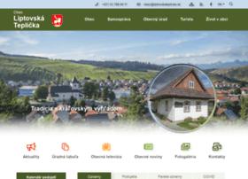 Liptovskateplicka.sk thumbnail