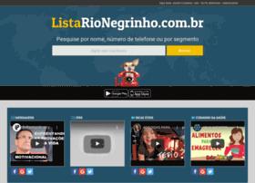Listarionegrinho.com.br thumbnail