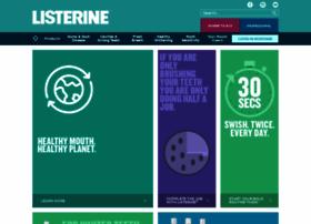 Listerine.co.za thumbnail