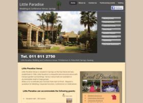 Little-paradise.co.za thumbnail