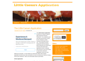 Littlecaesarsapplication.com thumbnail