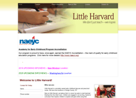 Littleharvard.org thumbnail