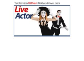 Liveactor.com thumbnail