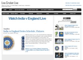 Livecricketlive.com thumbnail