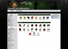 hunter livescore