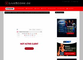 Livescores.ge thumbnail