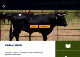 Livestockconservancy.org thumbnail