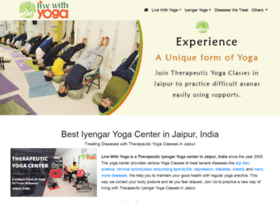 Livewithyoga.org thumbnail