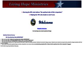 Living-hope-ministries.org thumbnail