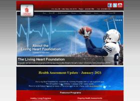 Livingheartfoundation.org thumbnail