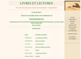 Livres-et-lectures.net thumbnail