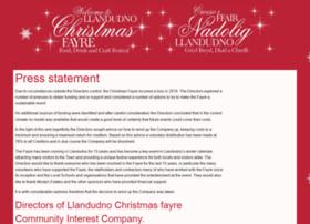 Llandudnochristmasfayre.co.uk thumbnail
