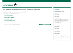 Lloydsbank.co.uk thumbnail