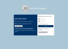 Lms.qau.edu.pk thumbnail