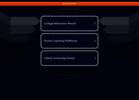 Lnmuuniversity.in thumbnail