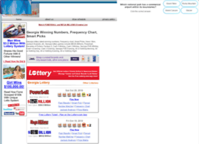 localbizguide info at WI  Georgia Winning Numbers, Frequency