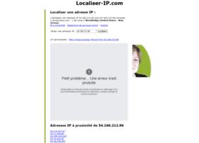 Géolocaliser une adresse IP