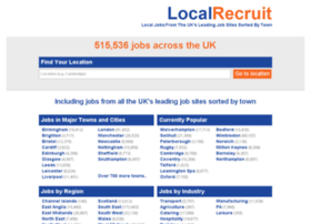 Localrecruit.co.uk thumbnail