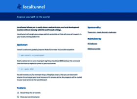 Localtunnel.me thumbnail