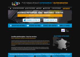Location-entretien-photocopieur.fr thumbnail