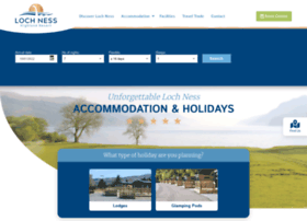 Lochnesshighlandlodges.co.uk thumbnail