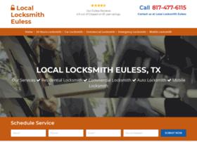 Locksmitheulesstx.net thumbnail