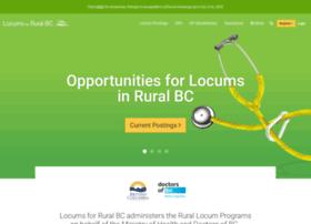 Locumsruralbc.ca thumbnail