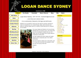 Logandancesydney.com.au thumbnail