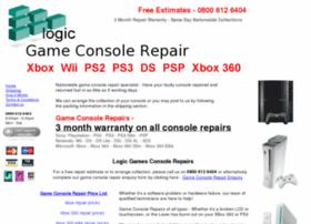 Logicgamesconsolerepairs.co.uk thumbnail