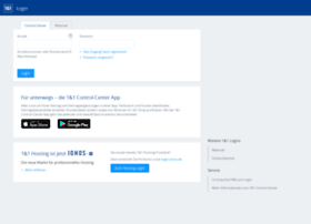 login.1und1.de at WI. 1&1 Kunden-Login - Anmeldung zu
