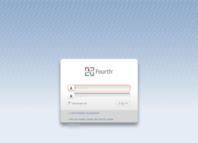login.fourthhospitality.com at WI. Log-in | Fourth