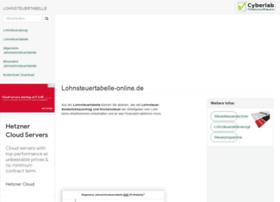 lohnsteuertabelle-online.de at WI. Lohnsteuertabelle 2020