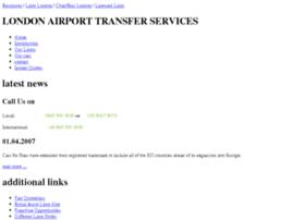 London-airports-transfer.co.uk thumbnail