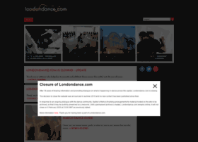 Londondance.com thumbnail