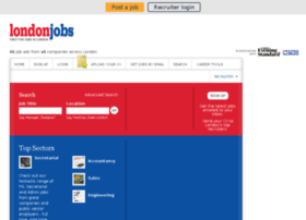 Londonjobs.co.uk thumbnail
