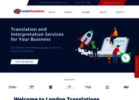 Londontranslations.co.uk thumbnail