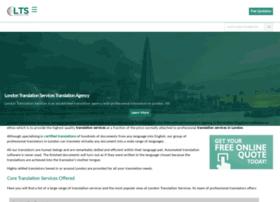 Londontranslationservices.co.uk thumbnail