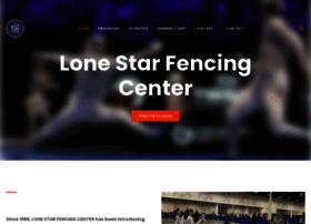 Lonestarfencingcenter.org thumbnail