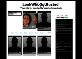 Lookwhogotbusted.com thumbnail