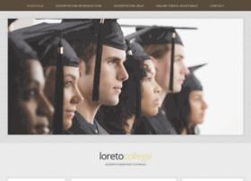 Loretocollege.org thumbnail