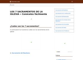Los7sacramentos.net thumbnail