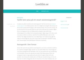 Losthlm.se thumbnail
